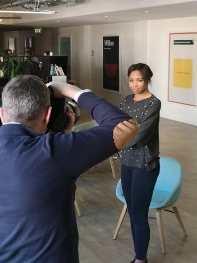 Shooting Photo en entreprises Des maquillages Naturels et Mise en Beauté sur Paris et  Proche Banlieue
